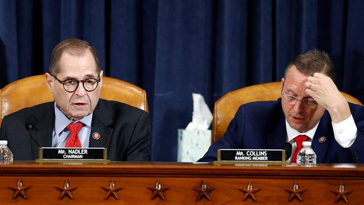 House Judiciary Committee approves impeachment articles against President Trump along party lines