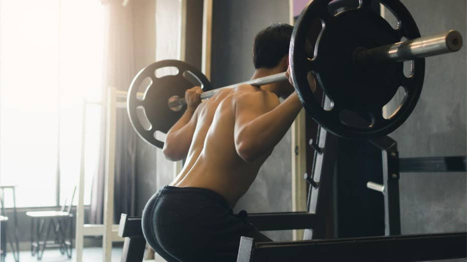 Gym-goer drops barbell on chest and falls flat on his face, allegedly while drunk