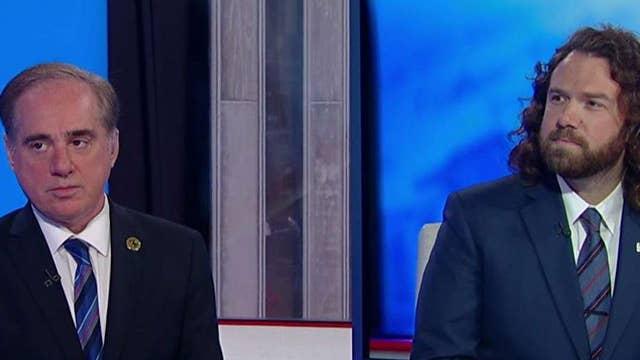 Former VA Secretary David Shulkin and Iraq War vet Tom Voss bring veterans' issues to light
