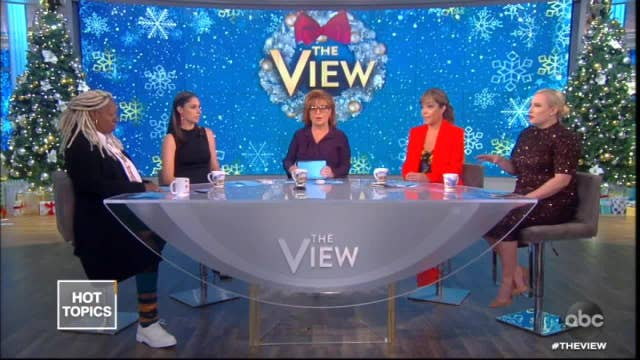 'The View' gets heated as Whoopi Goldberg and Meghan McCain clash on impeachment