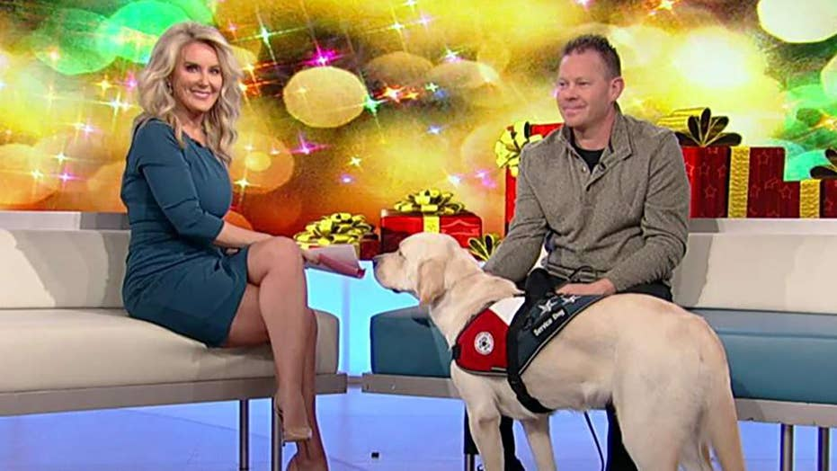 Organization provides service dogs to children and veterans