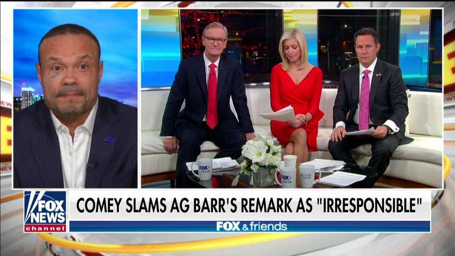 Bongino tears into James Comey after 'Fox News Sunday' interview