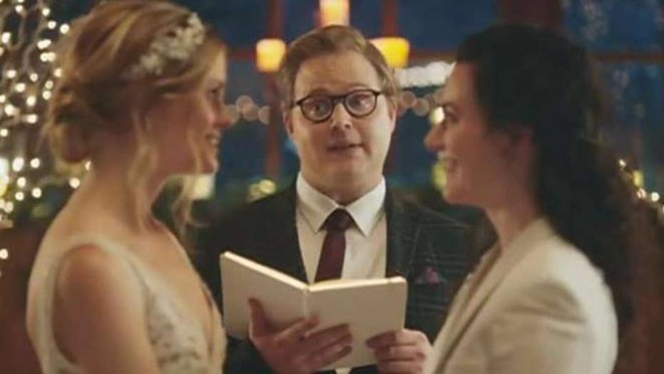 Hallmark Channel faces backlash from both sides of same-sex wedding debate