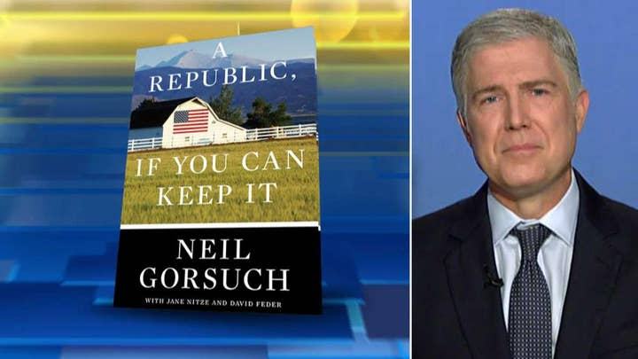 Justice Neil Gorsuch opens up on his judicial philosophy on 'Fox & Friends'