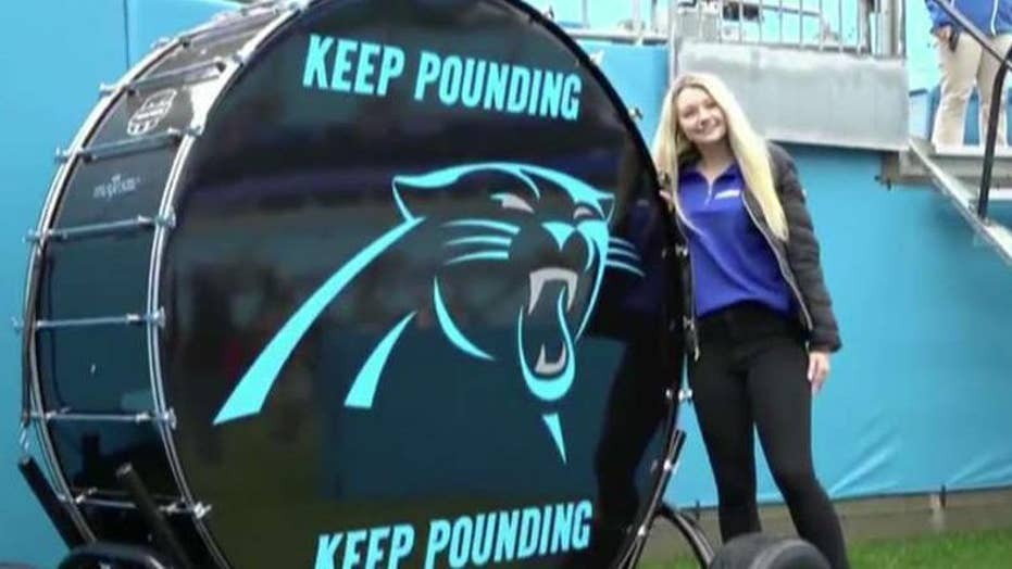 Teen's dedication to Hurricane Florence victims gets attention of Carolina Panthers