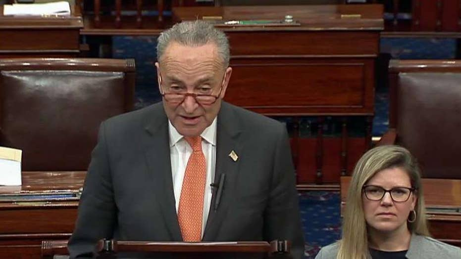 Schumer defends request for impeachment witnesses: What are Republicans afraid of?