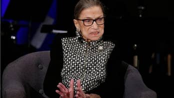 Ruth Bader Ginsburg decries Washington 'dysfunction' amid impeachment trial