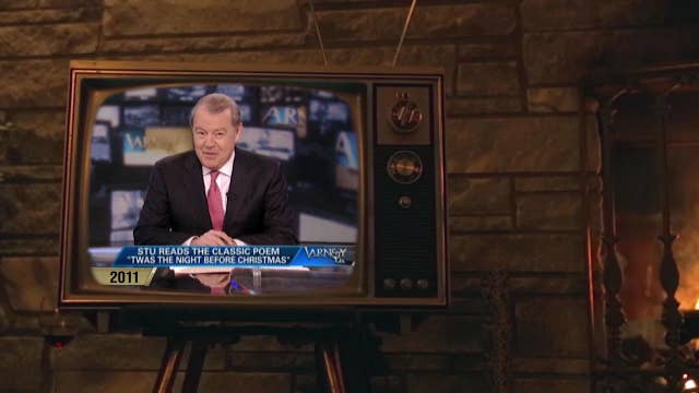Varney reads 'Twas the Night Before Christmas to his grandkids on his show