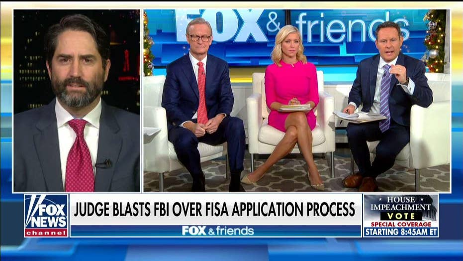 Former prosecutor says he's 'offended' by FBI misconduct: Russia probe should not have launched