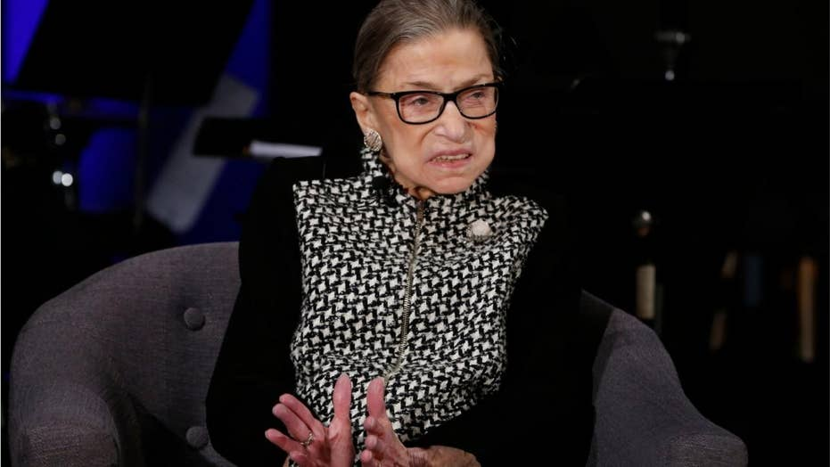 Ruth Bader Ginsburg says Trump 'not a lawyer' after he suggests Supreme Court could halt impeachment