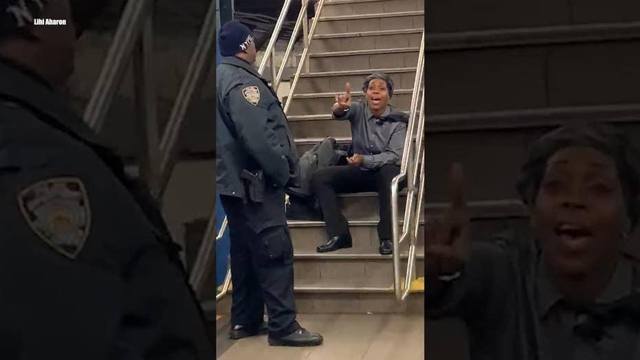 Watch: Jewish student victim records anti-Semitic tirade on NYC subway