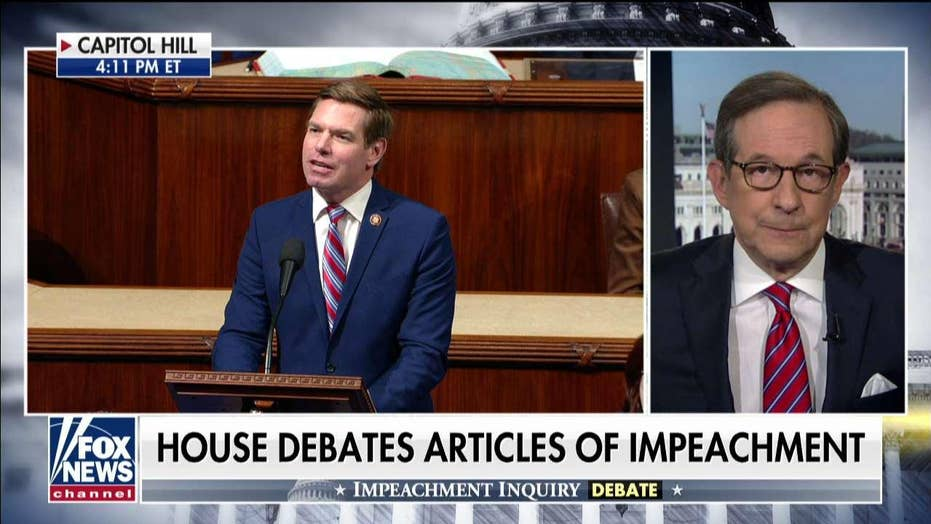 Chris Wallace on dueling House impeachment speeches: 'We've heard it all before'
