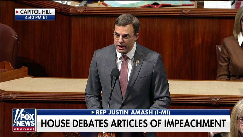 Rep. Justin Amash, former Republican, speaks out in favor of impeachment: Trump has 'abused and violated the public trust'