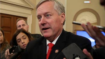 Meadows to resign from Congress this afternoon, officially starts as Trump's chief of staff tomorrow