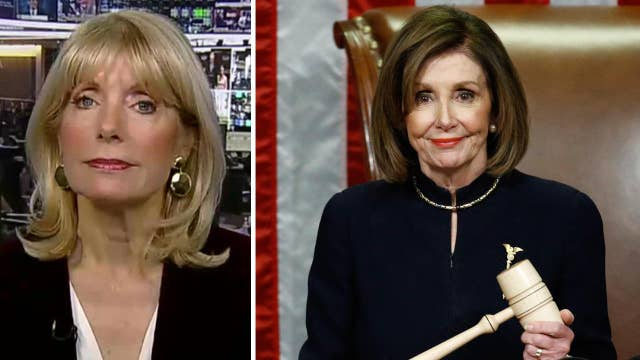Liz Peek: 'No future president is safe' after Pelosi led bitterly partisan Trump impeachment
