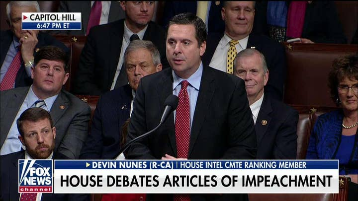 Devin Nunes: 'The only thing President Trump is guilty of is beating Hillary Clinton'
