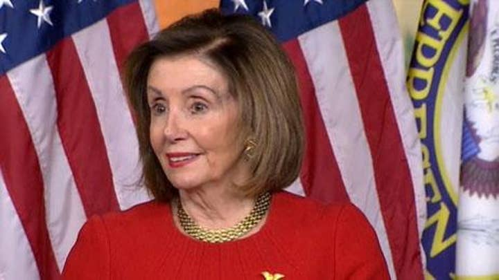 Pelosi on Trump impeachment: 'I have a spring in my step'