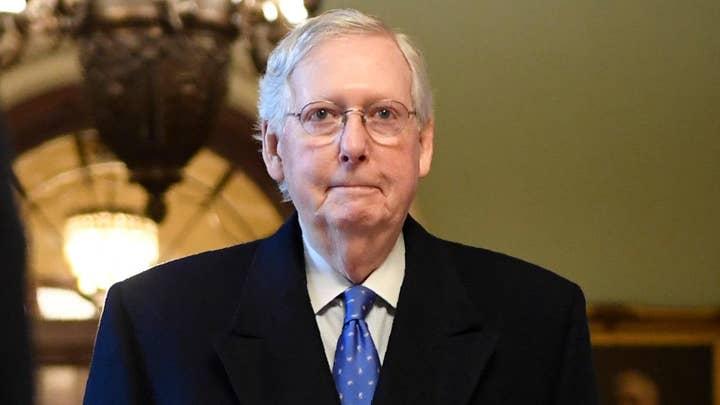 Sen. Mitch McConnell addresses Senate's January schedule