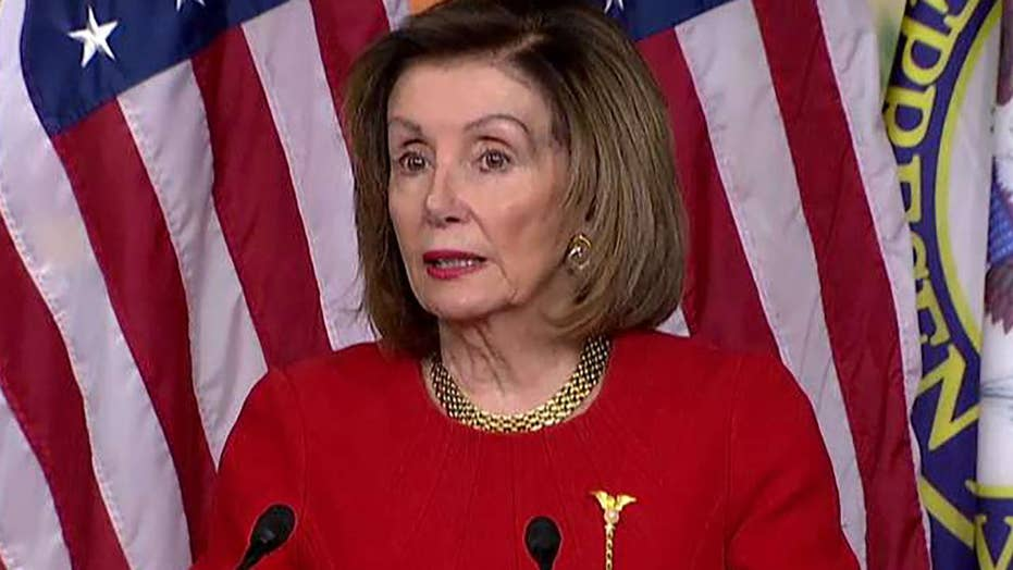 Pelosi says she has a spring in her step after House impeaches Trump