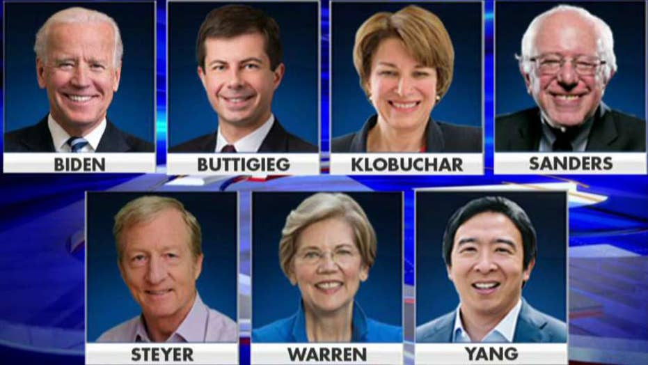 Seven Democratic presidential candidates set for final debate of 2019
