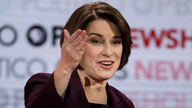 Sen. Amy Klobuchar on length of Democratic presidential debate: Time flies when you're having fun