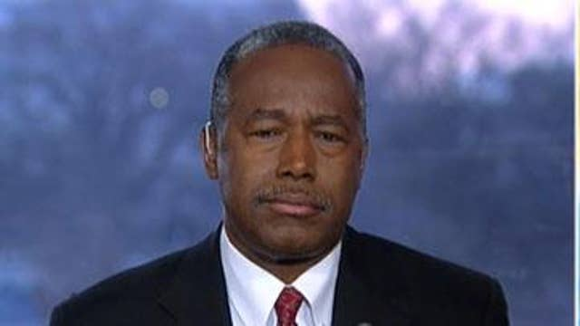Ben Carson: California's 'misguided concept of compassion' not helping homeless