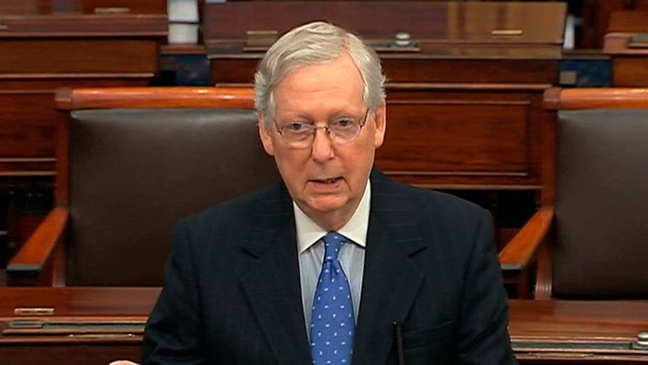 Sen. Mitch McConnell says Senate remains at an impasse over impeachment logistics
