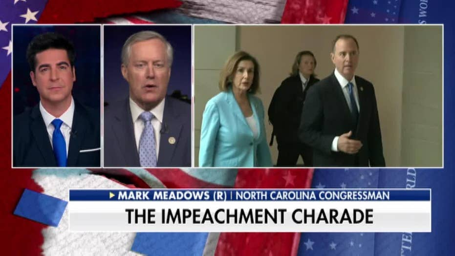 Rep. Mark Meadows: Dems wearing black after Trump impeachment is a 'PR stunt'