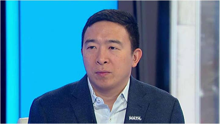 Andrew Yang on Democrats' obsession with impeachment, rival candidates' attacks on wealthy Americans