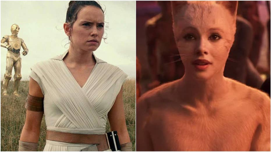 'Star Wars: The Rise of Skywalker' met with mixed reviews from fans as film critics pan 'Cats'