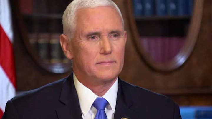 Exclusive: Vice President Pence on the Trump administration's vision and goals for 2020