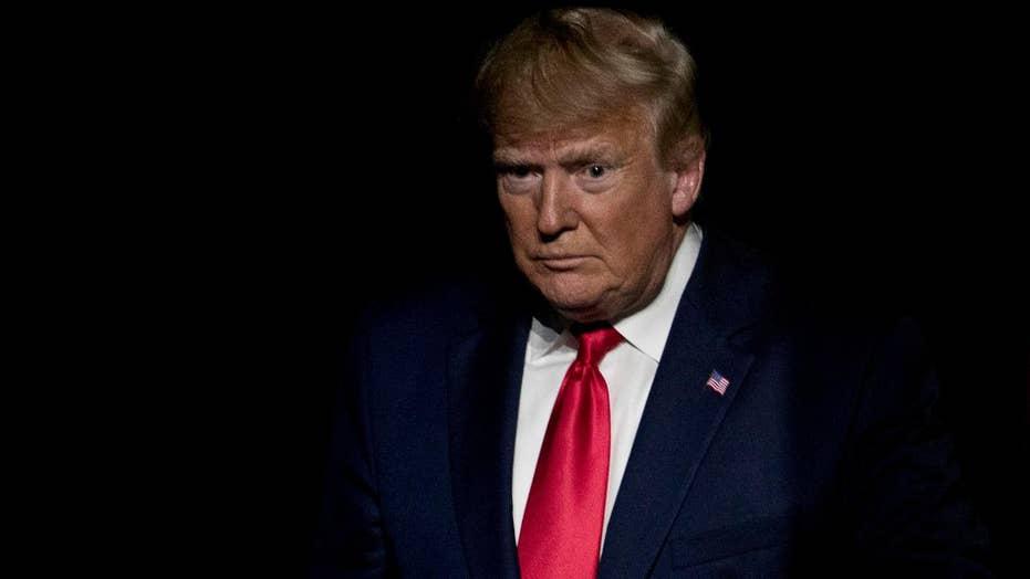 Trump calls media, Dems partners