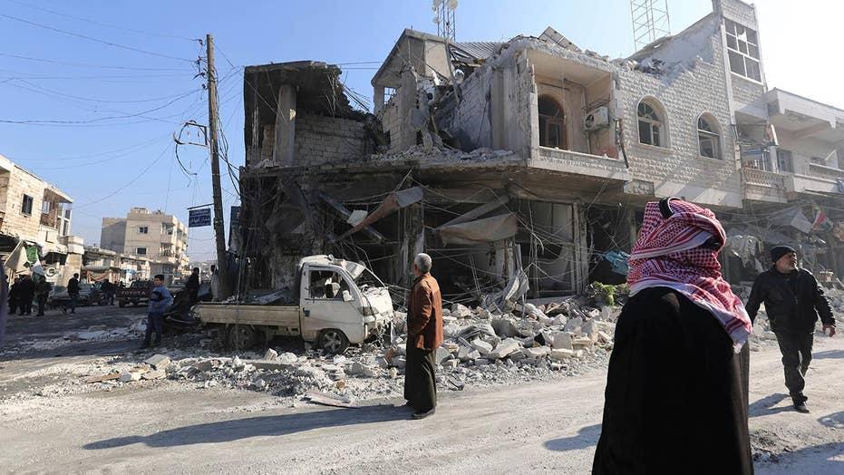 Israeli airstrike under way in Syria
