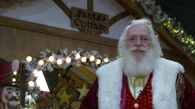 Getting into the Christmas spirit in Santa Claus, Indiana