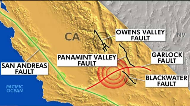 Major California fault line moving after 500 years