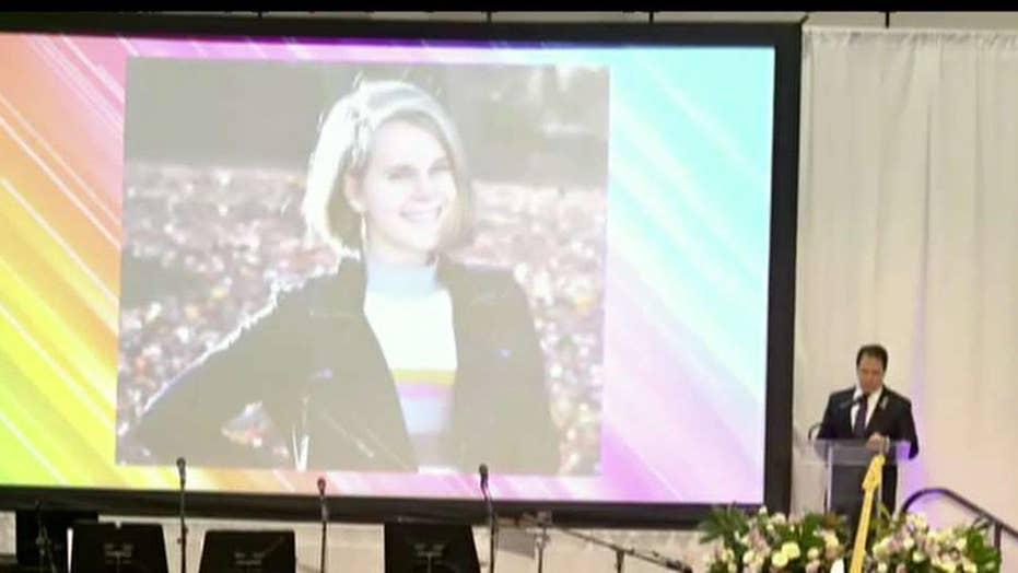 Memorial held to honor Barnard College student Tessa Majors