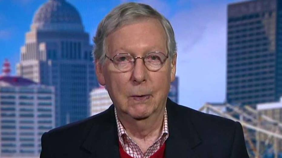 Sen. Mitch McConnell calls Nancy Pelosi's decision to withhold articles of impeachment an 'absurd position'
