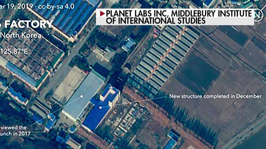 Satellite images show work at North Korean site linked to nuclear missiles