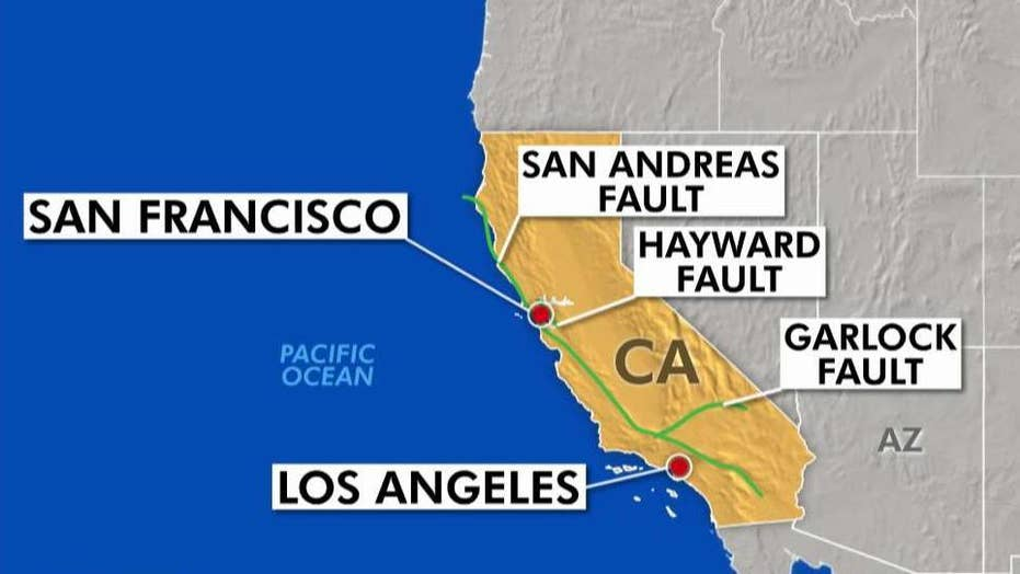 Earthquake fault line raises new concerns in California