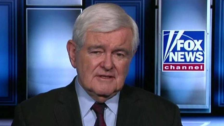 Newt Gingrich says Nancy Pelosi has no good way out of impeachment