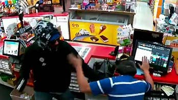 California store clerk fatally shoots armed robber who pistol whipped him