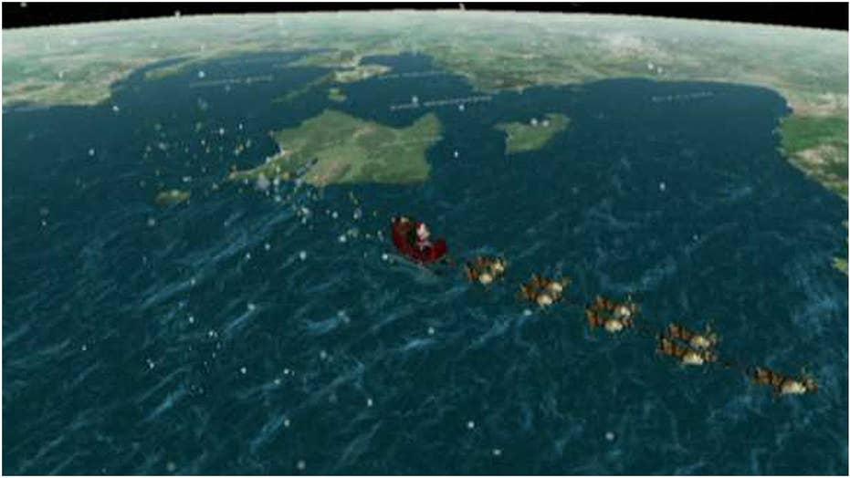 NORAD tracks Santa's Christmas flight