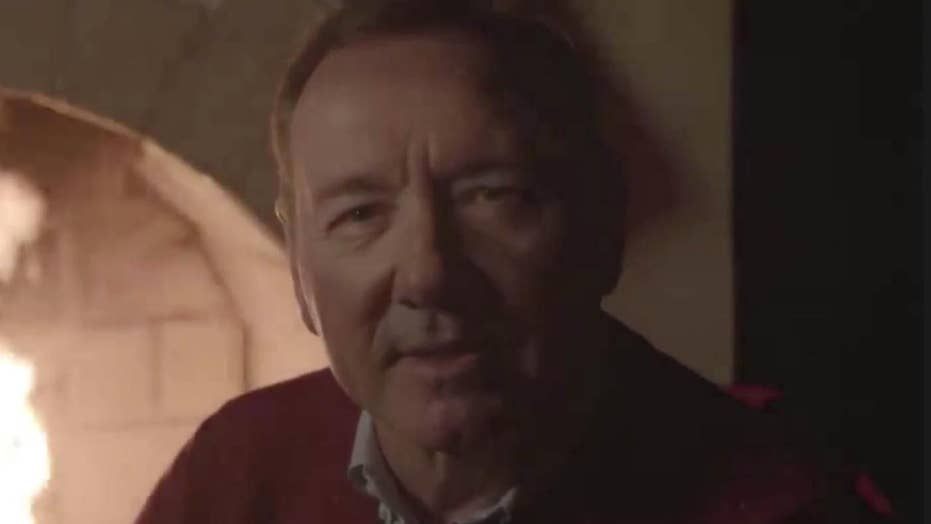 Kevin Spacey posts bizarre video as character Frank Underwood