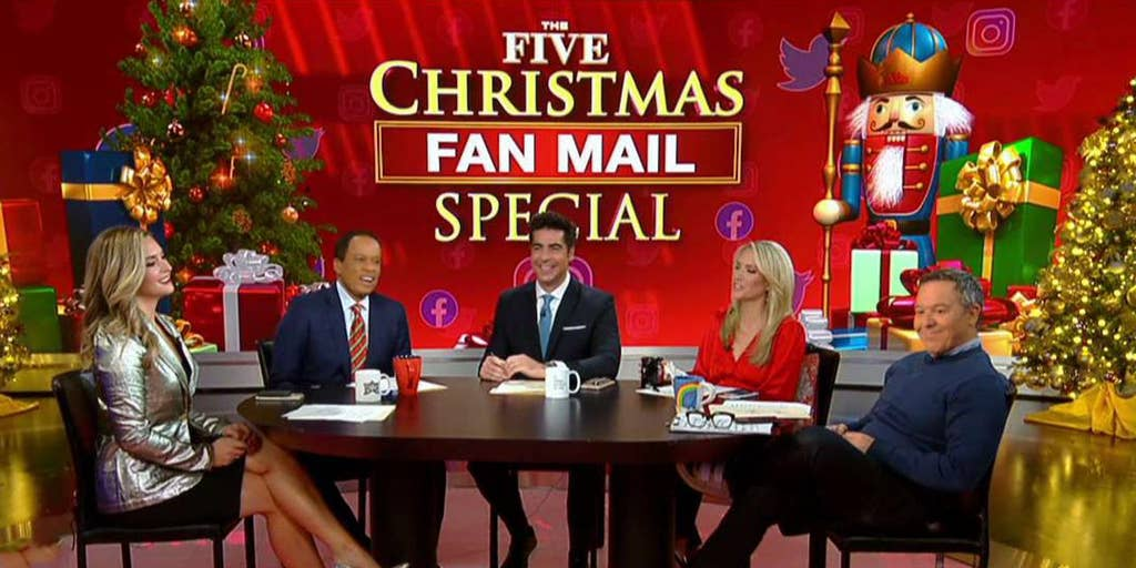 Coal Present Fox News Network Christmas December 25, 2020 Christmas fan mail special on 'The Five'   Fox News