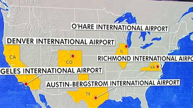Health officials warn travelers at five US airports exposed to measles