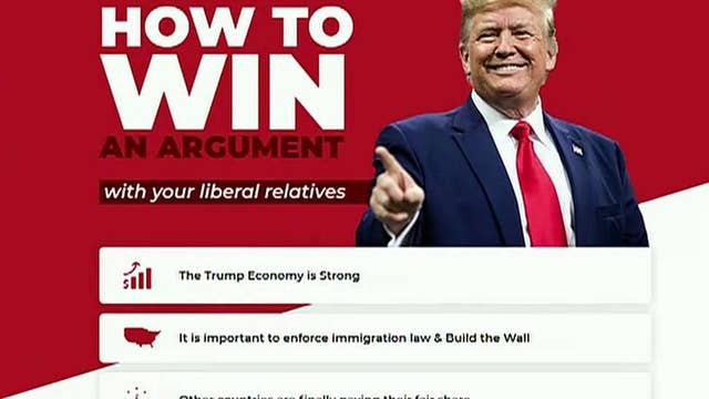 Trump campaign launches website to help supporters win arguments with liberal relatives