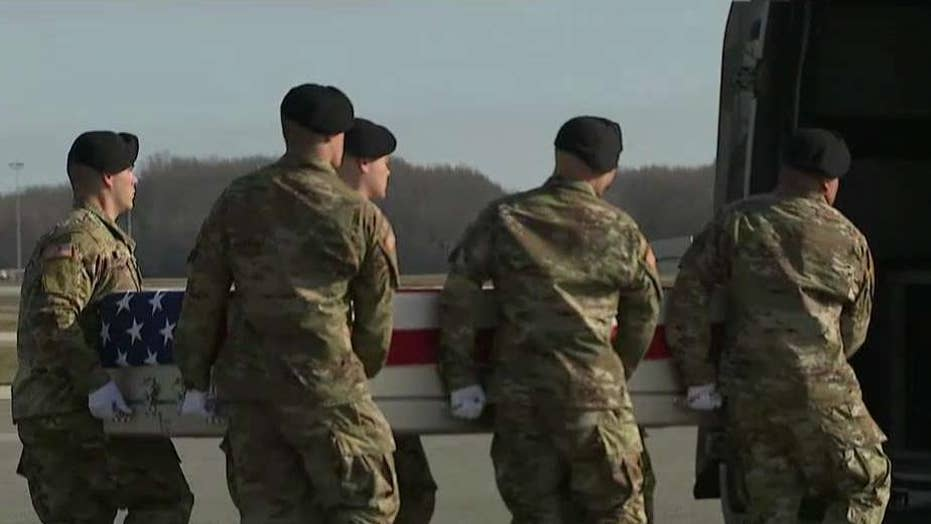 Remains of Special Forces soldier killed in Afghanistan return home