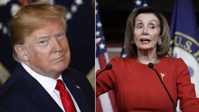 Trump slams Pelosi's 'unfair' impeachment process