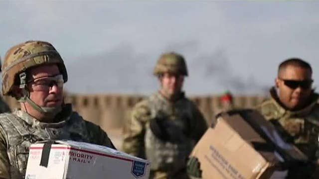 A message to the more than 200,000 troops who spent Christmas away from home this year