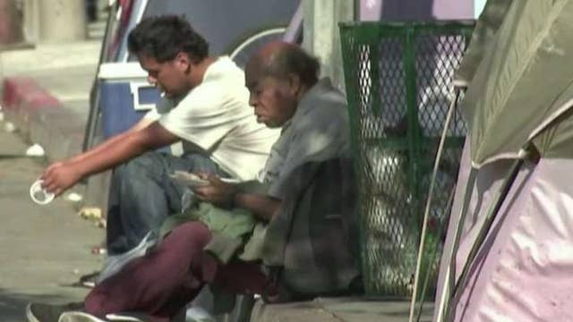 Trump attacks Pelosi and Newsom over homelessness crisis in California